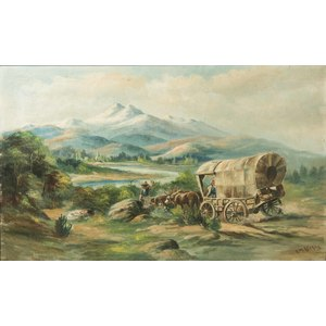 William Lemos Western Painting