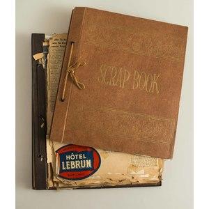 Two General Anthony McAuliffe Scrapbooks & Photo Albums