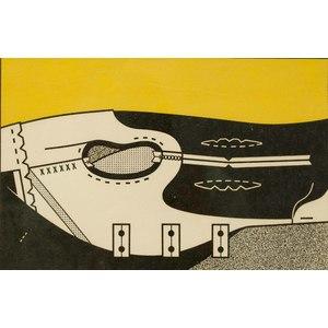 Darrell Forney (California, 1933-2001) Block Print